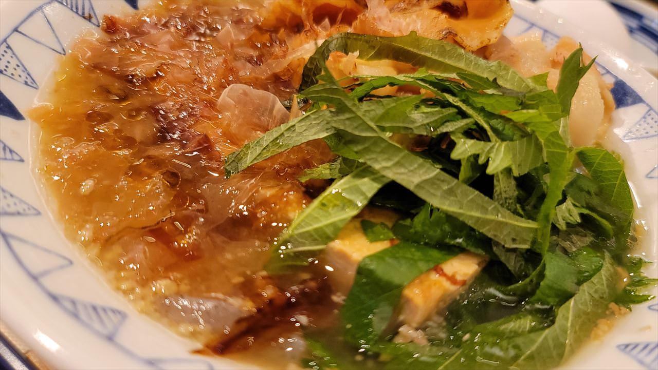 ごちとん「梅かつお豚汁定食」 08 04