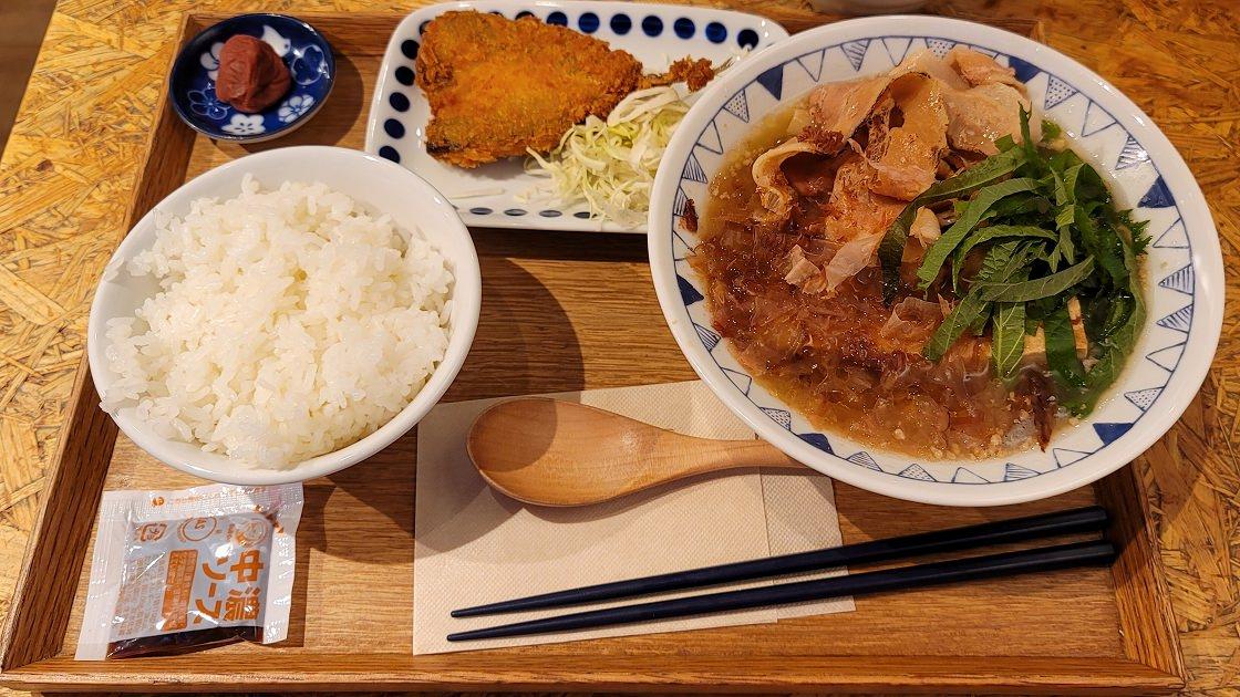 ごちとん「梅かつお豚汁定食」 29 04