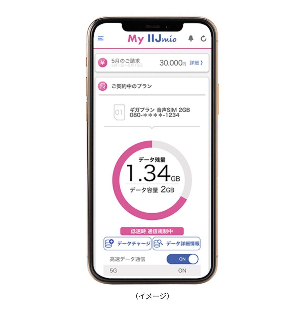Iijmio update 6 25