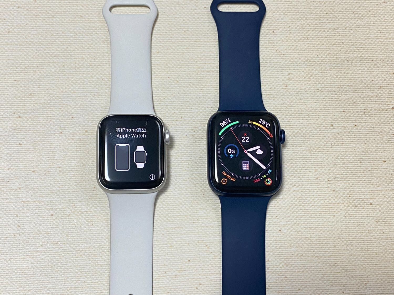 【Apple Watch 6】機種変更しようとしていきなり失敗した話【my new gear...】 22 23 04