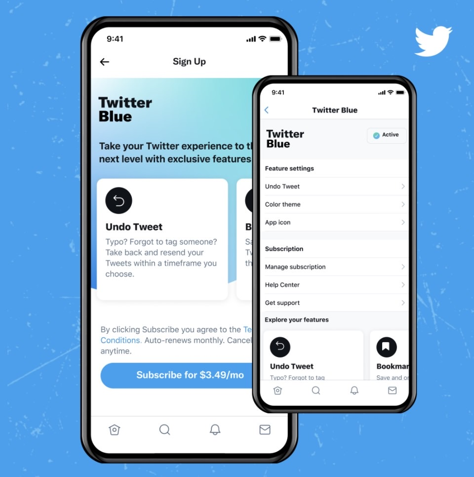 Twitter blue subsc 4 04 04