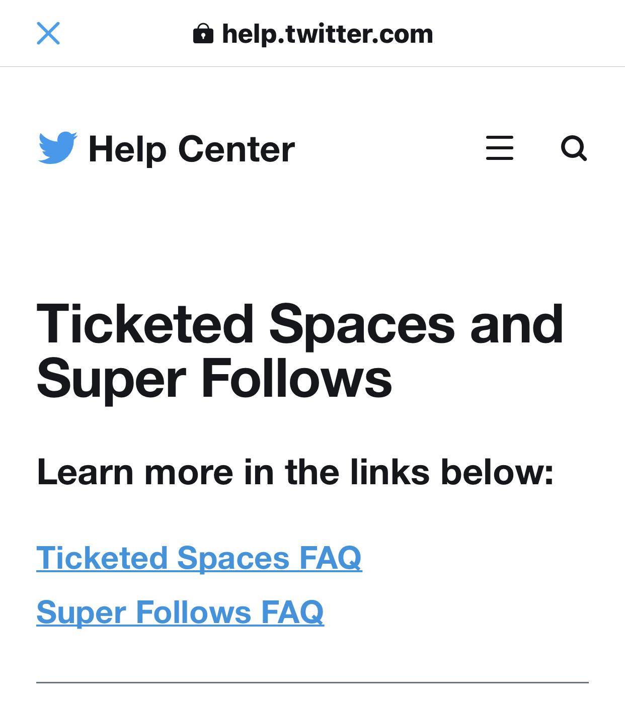 Twitter spaces money superfollower 08 04