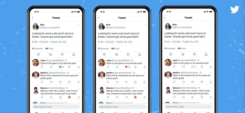 Twitter dislike test