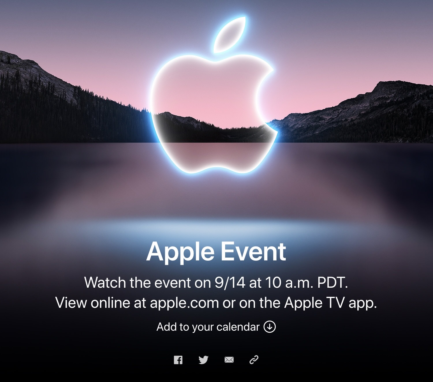 Apple special event 202109