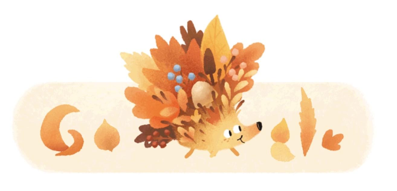 Google logo autumn 22000