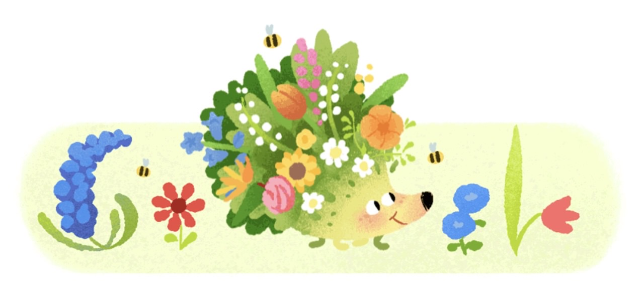 Google logo autumn 22001