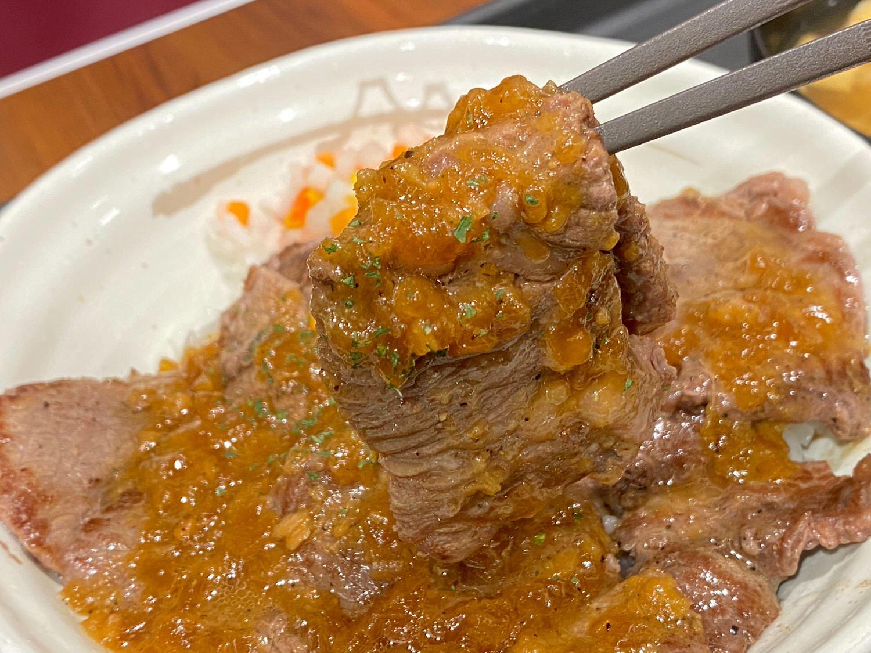 ビフテキ丼 香味ジャポネソース 14005