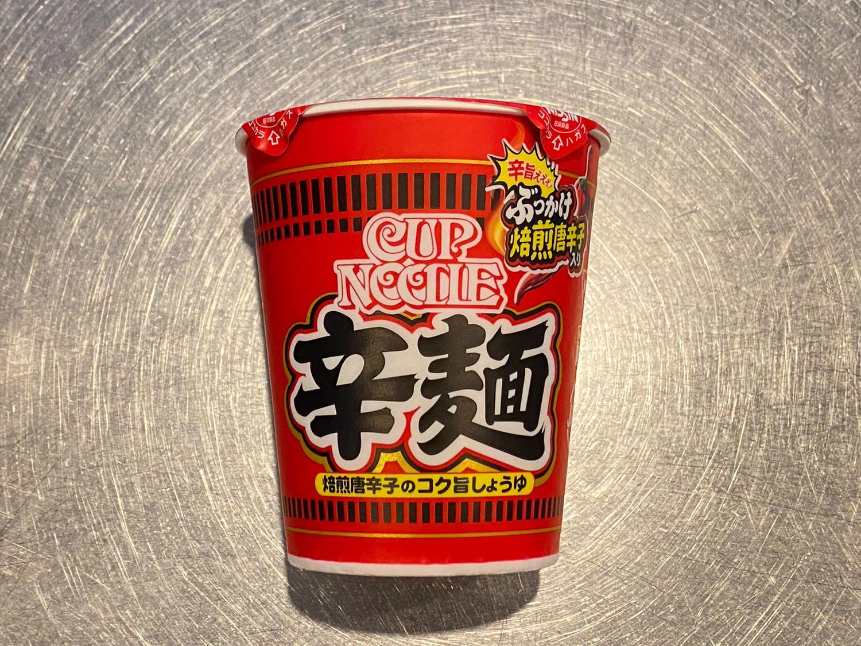 カップヌードル 辛麺(からめん) 02 04