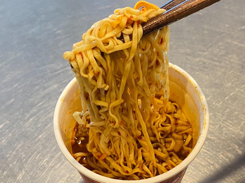 カップヌードル 辛麺(からめん) 09 04