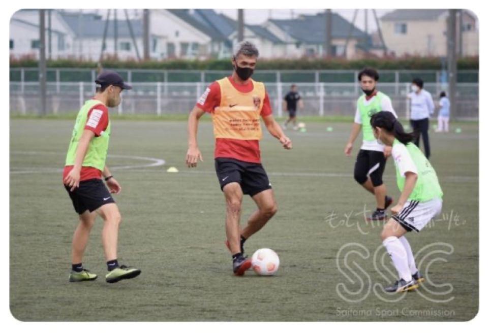 Saitama soccer coach