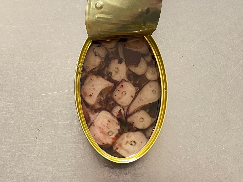 イカ缶詰のペペロンチーノ 09004